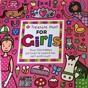 Girl's Treasure Hunt Book